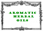 antic label aromatic herbal oils