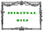 antic label spiritual oils