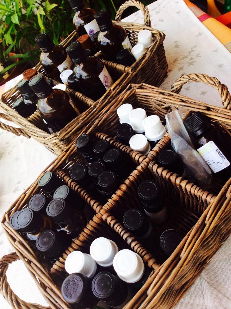 essential oils in cosmetics